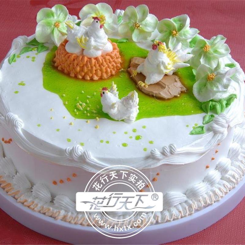 贺卡蛋糕手绘素材