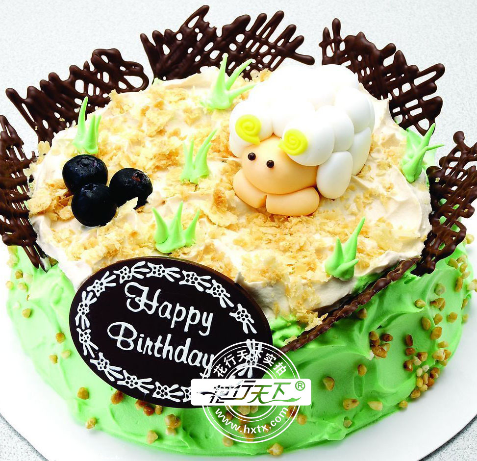 [包 装]:购买蛋糕附送贺卡,刀,叉,盘,蜡烛一套   [花 语]:愿羊