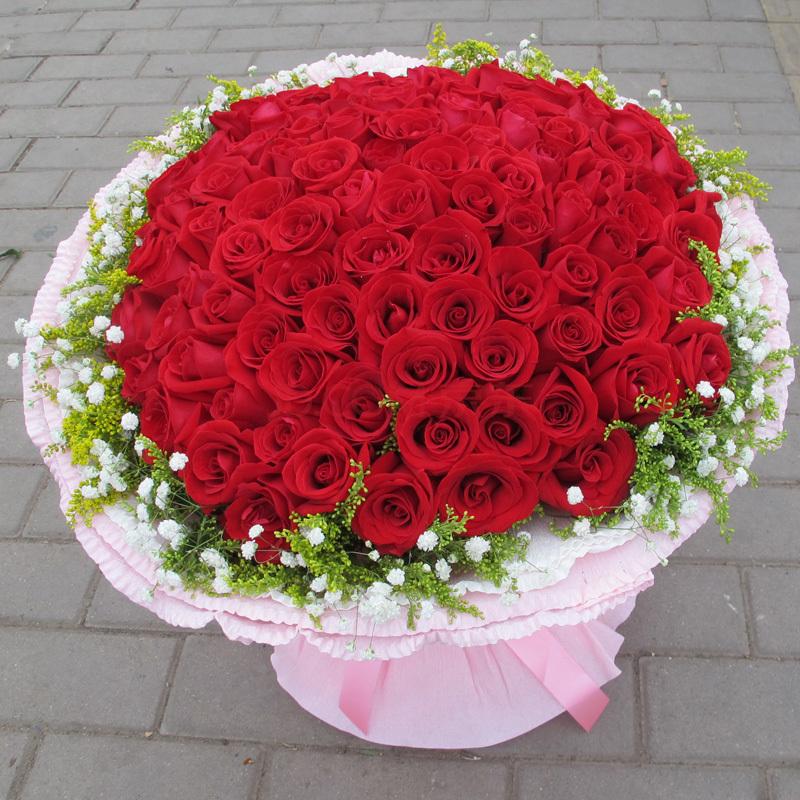 光棍节送花/因为爱情b