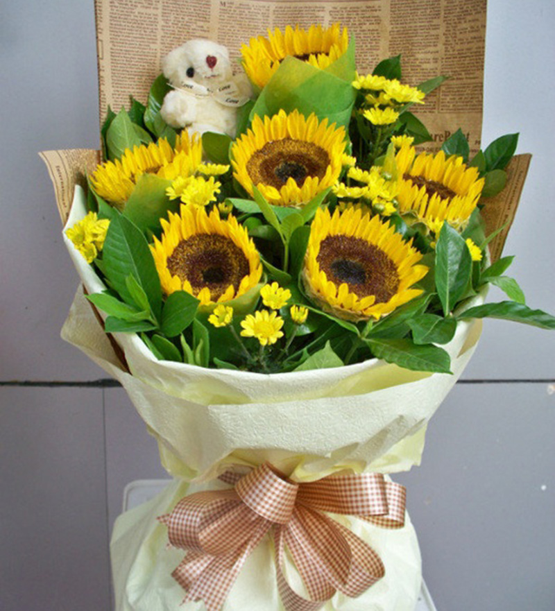 元旦如何送花?